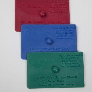 Acetal Test Cards
