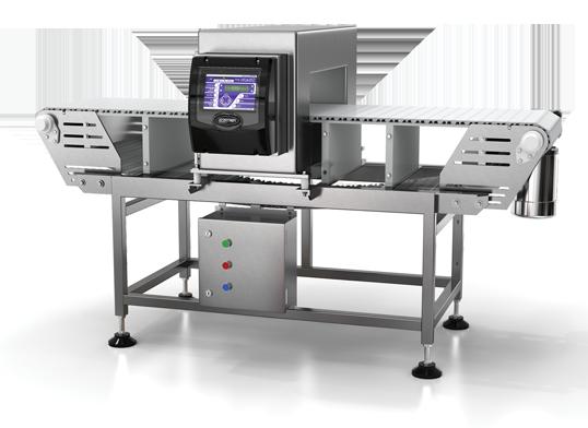 metal detector setup