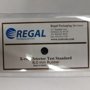 Laminate Test Cards - Rubber