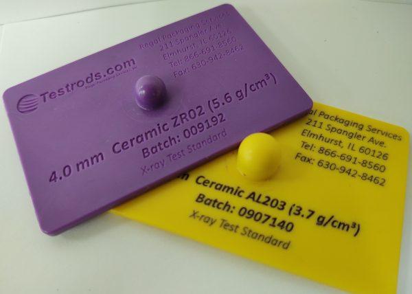 Hard Plastic Test Cards – Ceramic AL203 and ZR02