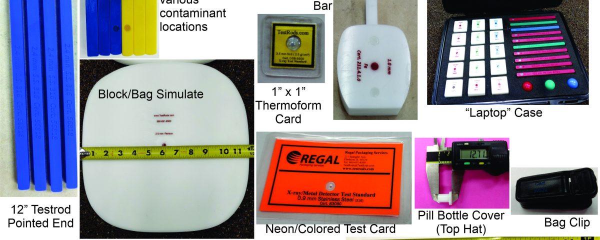 Metal Detection Test Pieces